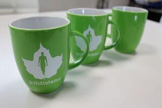 New mugs for Puhdistamo