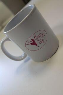 Coffee mug with logo