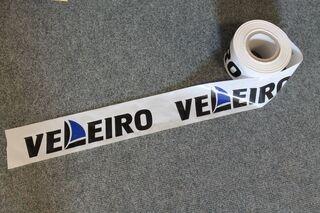 Warning foil with logo Veleiro