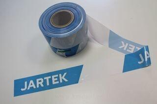 Warning foil with logo Jartek